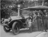 The Miller Daughters and the Pierce Arrow, c. 1919