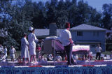Fourth of July Parade, Shriners Medical Care Float, 1963