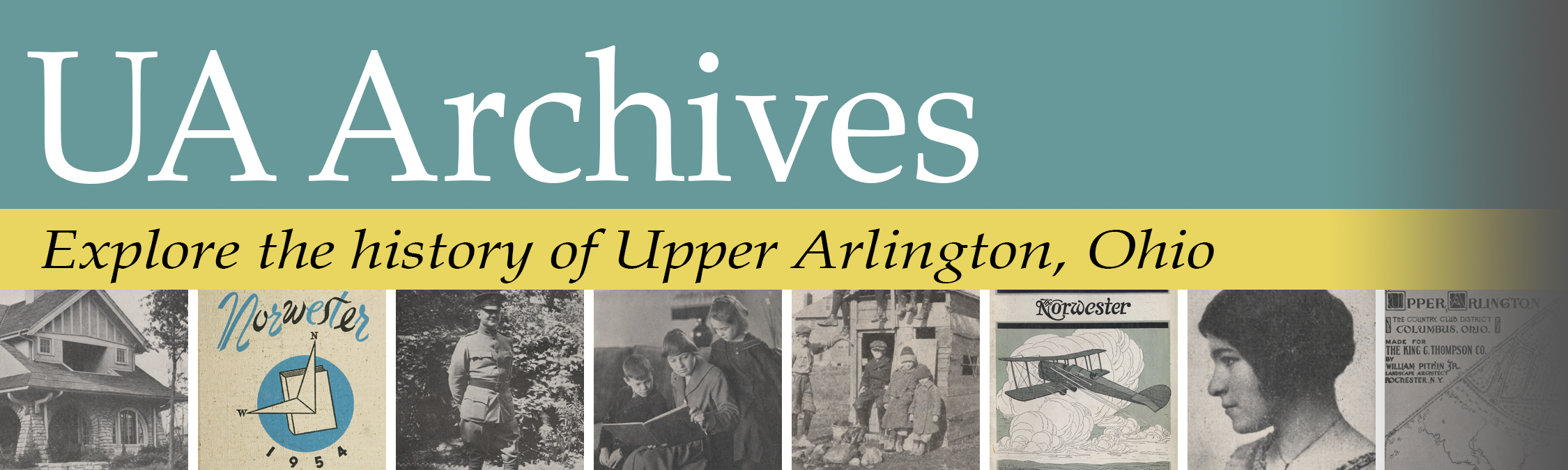 Collection Policies - UA Archives | Upper Arlington History
